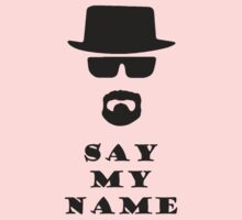 Say My Name Kids Clothes