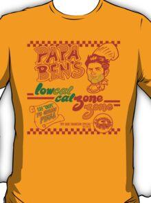 Papa Ben's Low-Cal Calzone Zone T-Shirt