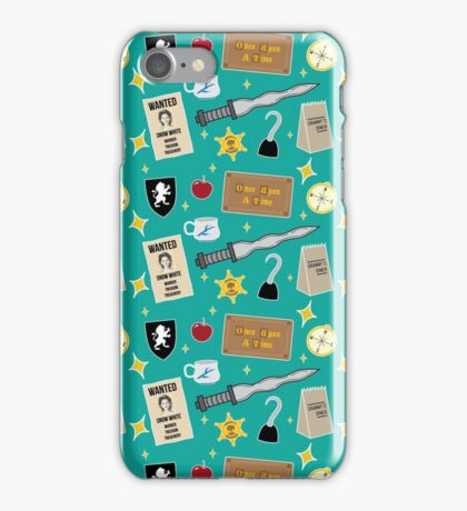 Once Upon A Time | Turquoise iPhone Case/Skin