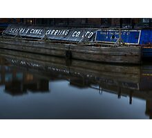 Barge, Gloucester Docks, Gloucester Photographic Print