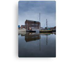 6am Gloucester Docks, Gloucester Canvas Print