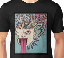 few cubic centimeters inside your skull Unisex T-Shirt