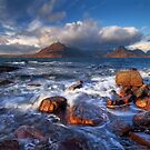 Elgol. The Cuillins across Loch Scavaig. Isle of Skye. Scotland. by PhotosEcosse