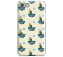Earth, geometric print iPhone Case/Skin