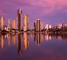Surfers Paradise Pink by D Byrne