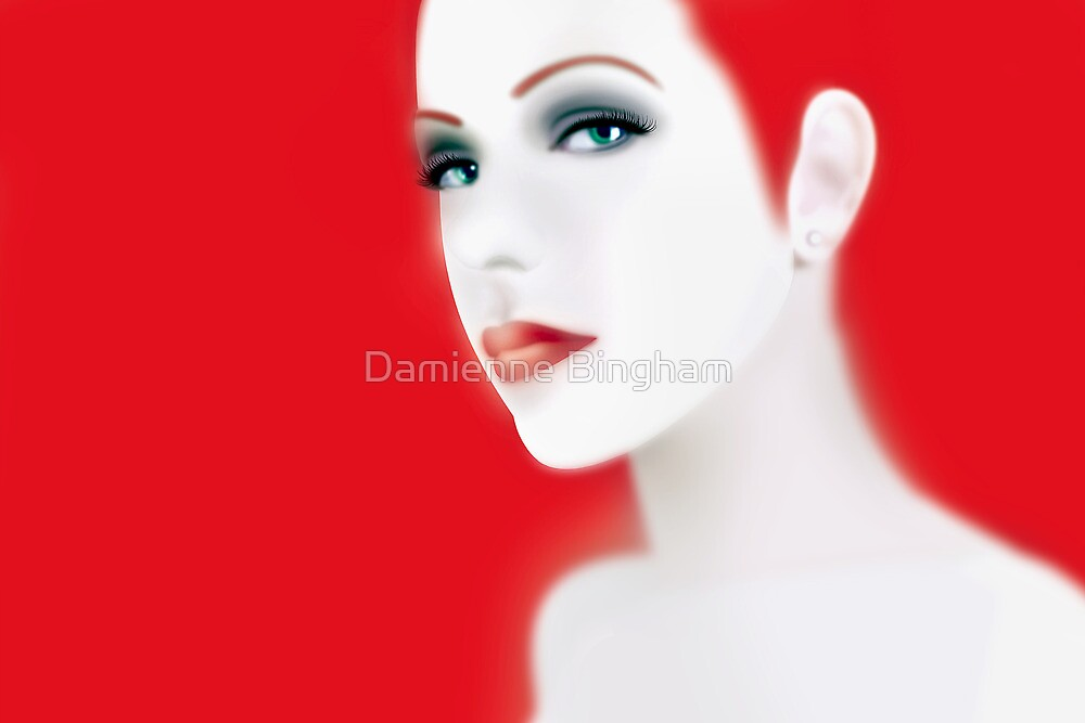 What If Miss Redhead Was a Real Girl? by Damienne Bingham