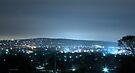 Mount Martha after dark  (cooling filter 3) by Karl David Hill