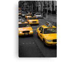 Taxi! New York City Canvas Print