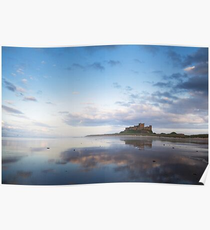 Bamburgh Castle, Northumberland Poster