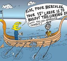 binary options cartoon - Hercules' 13th Labor by Binary-Options
