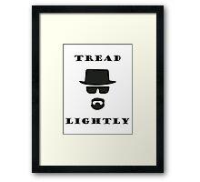 Tread Lightly Framed Print
