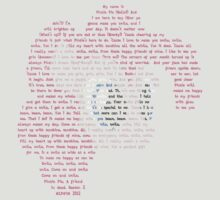 Pinkie Smile Typography Shirt
