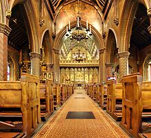 St. Giles, Cheadle by hebrideslight