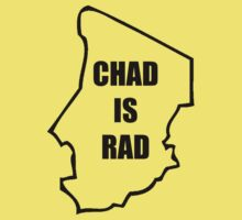 Chad Is Rad - Black Kids Tee