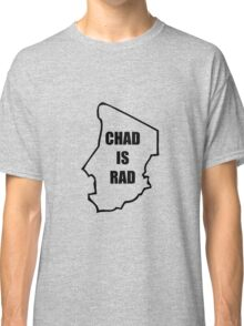 Chad Is Rad - Black Classic T-Shirt