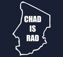 Chad Is Rad - White Kids Clothes