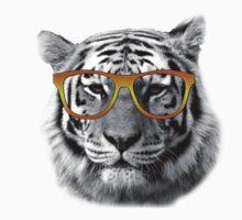 Tiger Glasses Kids Tee