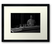 Broken Bar Framed Print