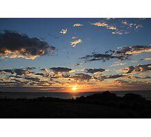 Serene Sunset Photographic Print
