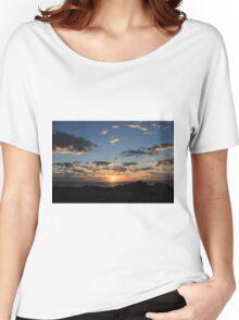 Serene Sunset Women's Relaxed Fit T-Shirt