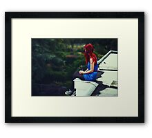 Not sure what I'm looking for Framed Print