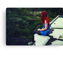 Not sure what I'm looking for Canvas Print