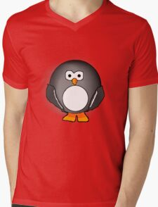 Peter The Penguin Mens V-Neck T-Shirt