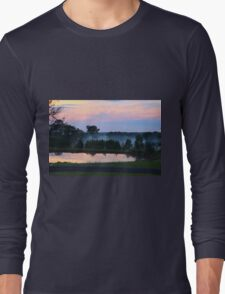 Misty Sunset Long Sleeve T-Shirt