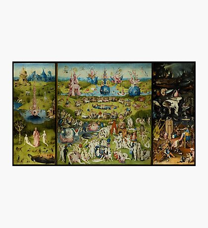 The Garden of Earthly Delights by Hieronymus Bosch (1480-1505) Photographic Print