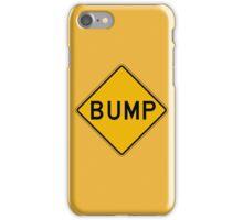 Bump, Traffic Warning Sign, USA iPhone Case/Skin