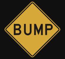 Bump, Traffic Warning Sign, USA Kids Tee