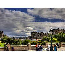 North Bridge, Edinburgh Photographic Print