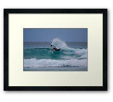 Board Rider - Quicksilver Pro - Gold Coast - Australia Framed Print