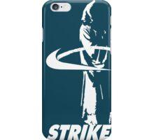 STRIKE NIKE (dark backgroung) iPhone Case/Skin