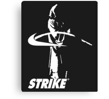 STRIKE NIKE (dark backgroung) Canvas Print