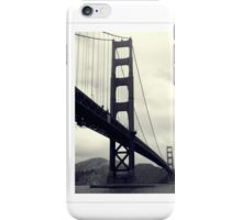 Golden Gate Bridge from Fort point iPhone Case/Skin