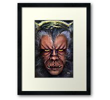The Werewolf Curse Framed Print