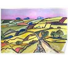 Landscape, England Poster