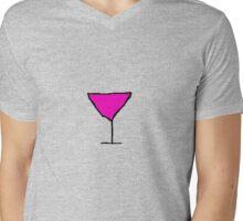 Martini for One Mens V-Neck T-Shirt