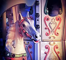 Carousel horse by Silvia Ganora