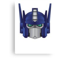 Optimus Prime Canvas Print