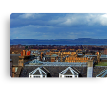 Chimneys Canvas Print