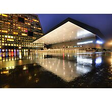 Rink Reflections Photographic Print