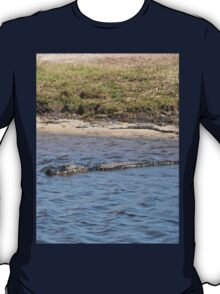 Alligator in the Water T-Shirt