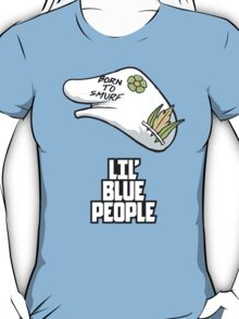 Lil' Blue People T-Shirt