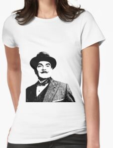 Hercule Poirot Womens Fitted T-Shirt