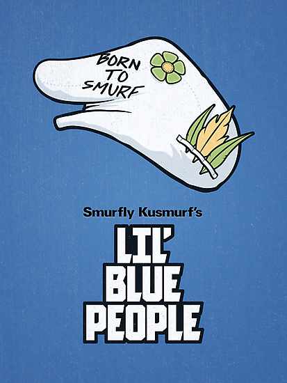 Lil' Blue People by powerpig