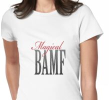 Magical BAMF by Demianite Womens Fitted T-Shirt