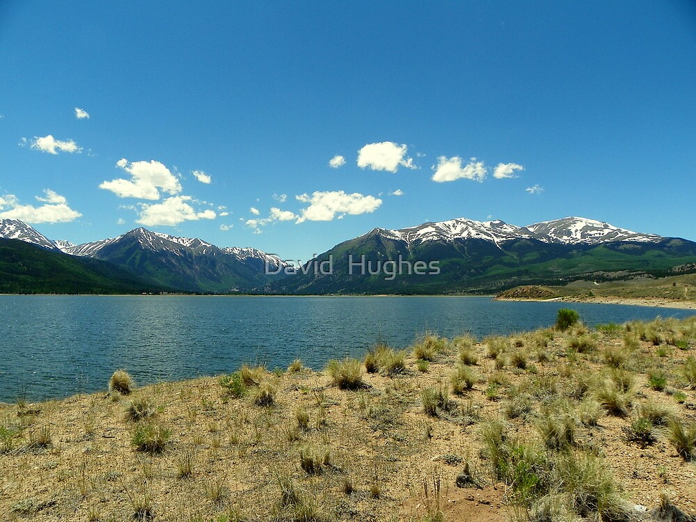 Twin Lakes Reservoir by David  Hughes