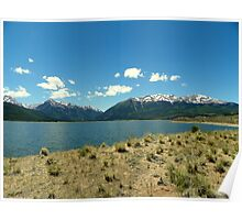 Twin Lakes Reservoir Poster